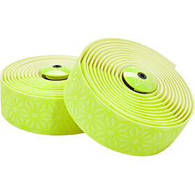 Supacaz Super Sticky Kush TruNeon Handlebar Tape, neon yellow